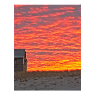 House at Sunset - 2 Letterhead