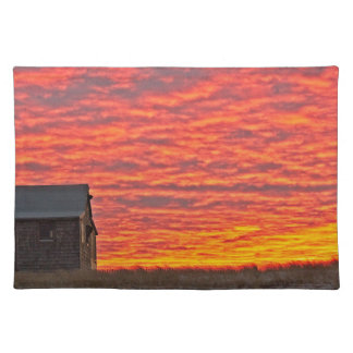 House at Sunset - 2 Placemat
