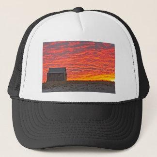 House at Sunset - 2 Trucker Hat