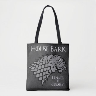 House Bark - Dinner is Coming Tote Bag