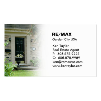 House Black Door Real Estate Business Card