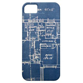 House Blueprints iPhone 5 Case