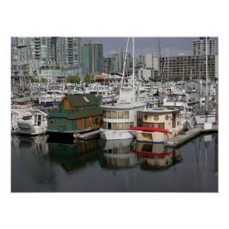 House Boats Poster