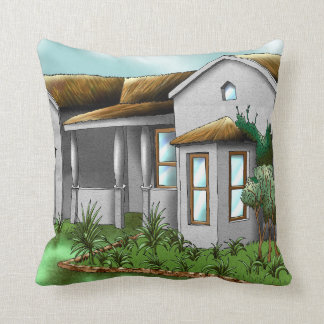 House by JVG Throw Pillow