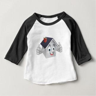 House Cartoon Character Baby T-Shirt