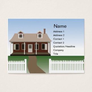 House - Chubby Business Card