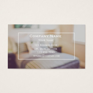 House Cleaning Service Business Card