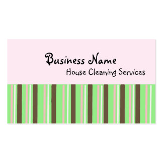 House Cleaning Services Business Card