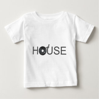 House DJ Turntable - Music Disc Jockey Vinyl Baby T-Shirt