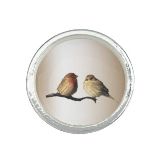 House Finches Photo Rings