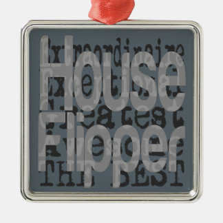 House Flipper Extraordinaire Metal Ornament