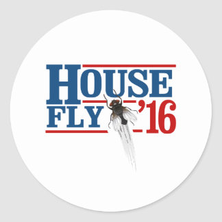 HOUSE FLY 2016 -- Presidential Election 2016 - Round Sticker