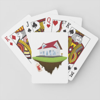 House For Sale Playing Cards