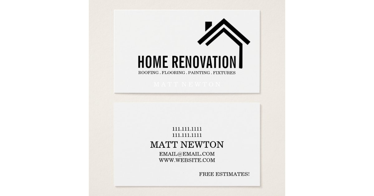 House home remodeling renovation construction business for Home renovation builders