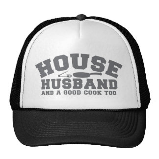 House Husband and a good cook too Mesh Hat