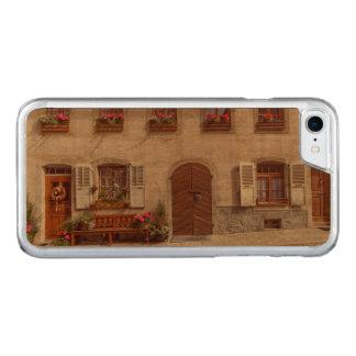 House in Gruyere village, Switzerland Carved iPhone 8/7 Case