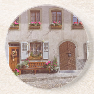 House in Gruyere village, Switzerland Coaster