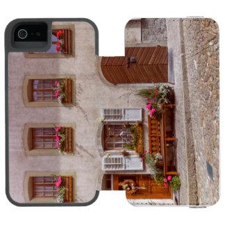 House in Gruyere village, Switzerland Incipio Watson™ iPhone 5 Wallet Case