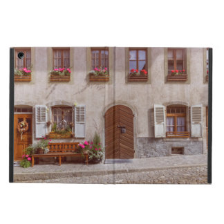 House in Gruyere village, Switzerland iPad Air Cover