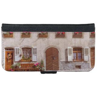House in Gruyere village, Switzerland iPhone 6 Wallet Case