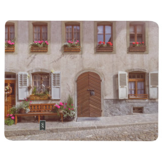 House in Gruyere village, Switzerland Journals