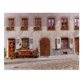 House in Gruyere village, Switzerland Postcard