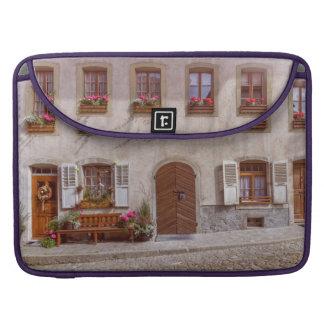 House in Gruyere village, Switzerland Sleeve For MacBook Pro