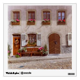 House in Gruyere village, Switzerland Wall Sticker