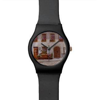 House in Gruyere village, Switzerland Watch