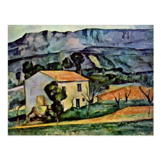 House In Provence By Paul Cézanne (Best Quality) Postcard