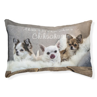 House Is Not A Home Chihuahua Small Indoor Dog Bed