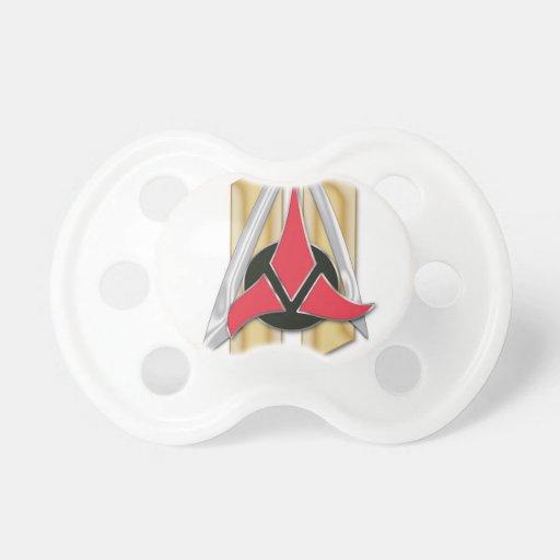 HOUSE Ki'RK QuarterMaster Items Baby Pacifiers