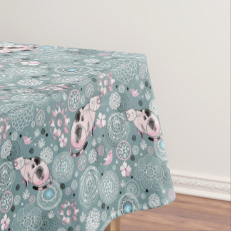 House Kitty Pattern Tablecloth