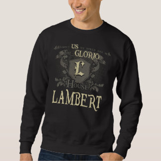 House LAMBERT. Gift Shirt For Birthday