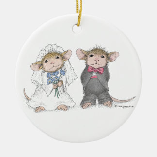 House-Mouse Designs®-Personalized Wedding Ornament