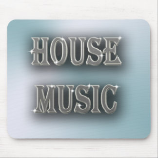 House Music Mouse Pad