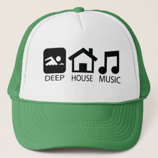 House Music Trucker Hat