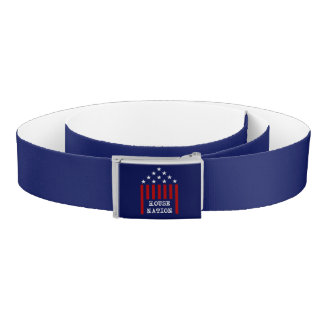 House Nation Stars & Stripes Belt