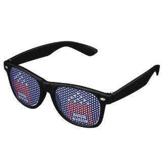 House Nation Stars & Stripes Retro Sunglasses