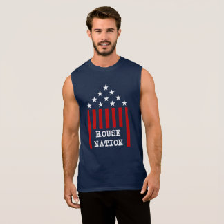 House Nation Stars & Stripes Sleeveless Shirt