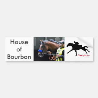 House of Bourbon Bumper Sticker