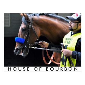 House of Bourbon Postcard