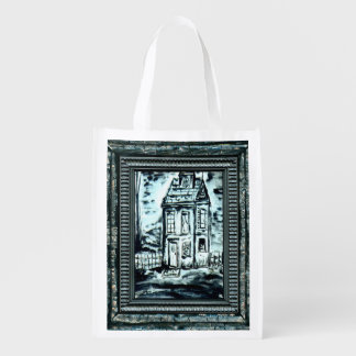 House of Deception Reusable Grocery Bag