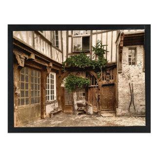 House of Francis I, Abbeville, France vintage Phot Postcard