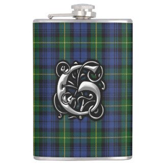 House of Gordon Clan Tartan Old Scotland Flask