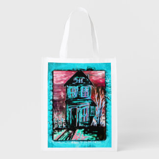 House of Invitation Reusable Grocery Bag