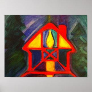 House of Light & Fire - Art Poster