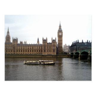 House of Parliament Postcard