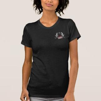 House of Pitt Bulls Crest silver gray blue Design T-Shirt