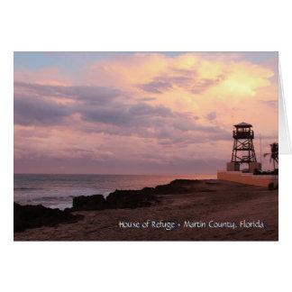 House of Refuge • Jensen Beach, Florida Card